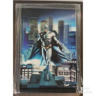 Batman The Dark Night 3D lenticular poster