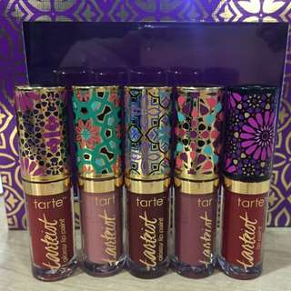 Tarte quick dry & glossy lip set