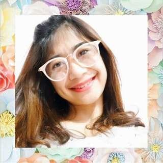 Frame kacamata tipis dan kecil