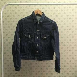 [women's] Jeans jacket by uniqlo