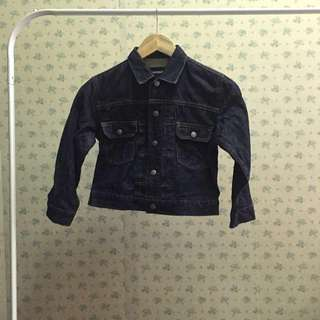 [kid's] Jeans jacket by uniqlo