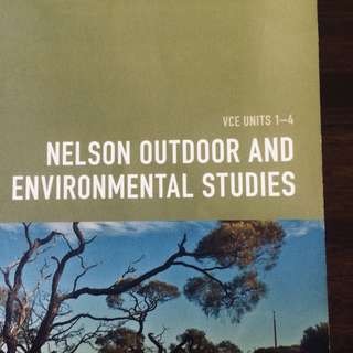 VCE UNITS 1-4 Nelson Outdoor and Environmental Studies