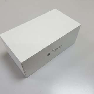 iPhone6 盒與配件 (box and accessories only)