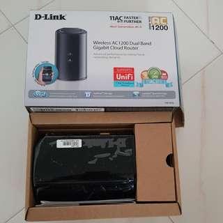 D-Link Router DIR-850L AC1200