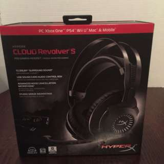 HyperX - Cloud Revolver S Wired Gaming Headset w/ Dolby 7.1
