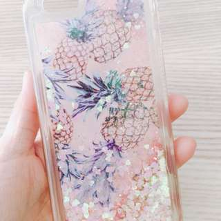 iPhone 6S鳳梨手機包邊軟殼