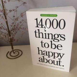 PRICE DROP - 14,000 Things to Be Happy About #BlackFriday50