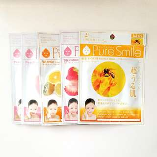 日本爆紅 Pure Smile 保濕面膜