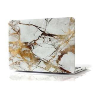 WHITE MARBLE HARD CASE FOR MACBOOK PRO 13.3 INCH