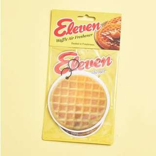 Stranger things eleven eggo waffle air freshener