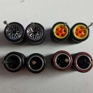 Rims For 1/64 scale model cars Suitable for Hot Wheels and Tomica