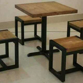 Chairs and table from 8 concept furniture