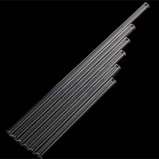 Reusable Thick Glass Straws