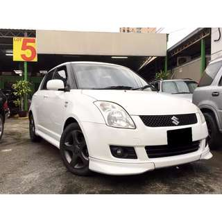 SUZUKI SWIFT 1.5 H-SPEC Crystal White (A) FULL BODYKIT 2008/09