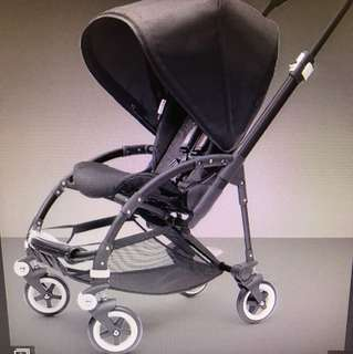 Bugaboo bee stroller - all black!