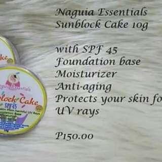 Sunblock Cake Foundation