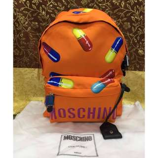 Original MOSCHINO Backpack >>> PLEASE READ Profile Bio and Product details carefully
