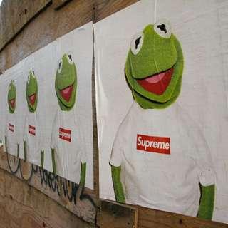 (Instock) Super dope Supreme Kermit poster