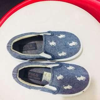 Shoes polo brand 2 yrs