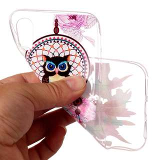 Bendable TPU Owl dreamcatcher iphone cover