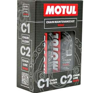 400ml Motul Chain Maintenance Kit **Free Chain Brush** (Self Collection Only)