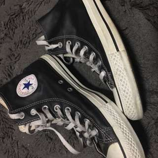 Leather Converse Size 7