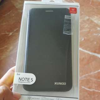 Note 5 flip cover