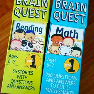 Brain Quest - 2 for 1 bundle