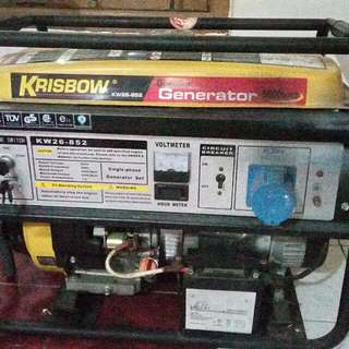Genset Krisbow 5500 watt