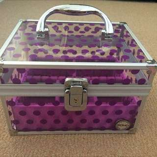 Makeup Chest/Box With Lock And Key