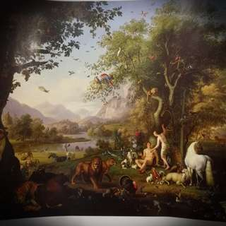 Painting bought from Vatican Museums Italy
