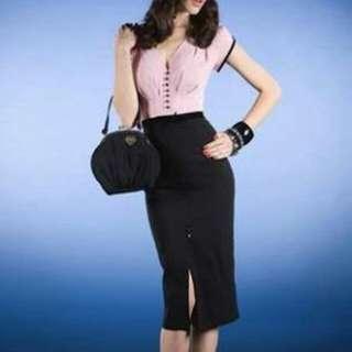 Stop Staring Juicy pinup dress