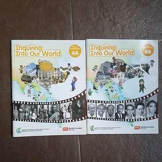 P4 Social Studies Textbooks 4A & B