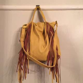 POSTAGE INCLUDED Amber Rose Tassel Bag