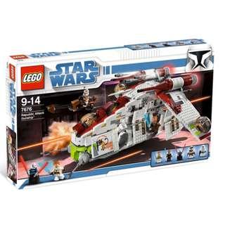 🚚 Lego 7676 Republic Attack Gunship