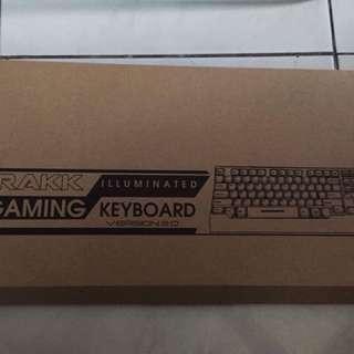 Rakk Illuminated Gaming Keyboard V2