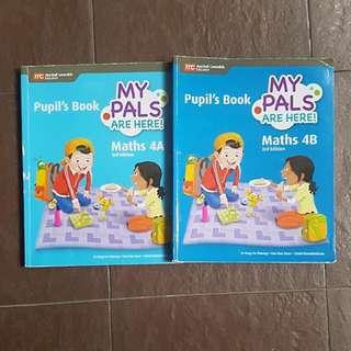 Primary 4 Mathematics textbook 4A & B