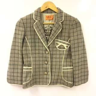 Juicy Couture checkers jacket size S
