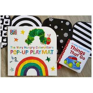 Baby Books set (3 books set) - free delivery