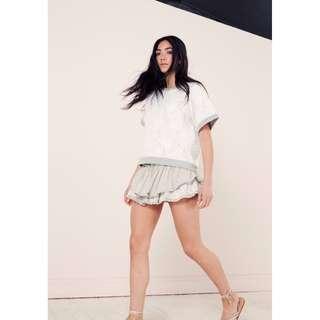 Flannel Designer AU Jack And Jill Summer Festival Shorts Black Size 0 6 8 NEW