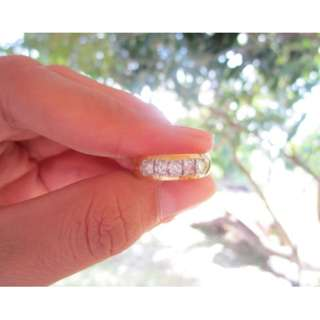 .50 Carat Diamond Twotone Gold Ring 14k