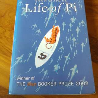 Life of Pi by Yann Martel (paperback)