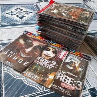 REPRICED: DVD movies Take all 68pcs.📀👌