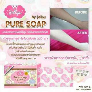 PURE SOAP (WHITENING SOAP) by Jellys