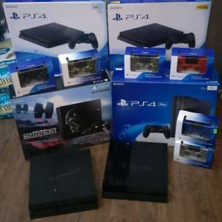 PS4 Consoles Clearance
