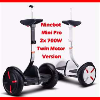 Ninebot Scooter - Xiaomi/Segway - Mini Pro with 6 months warranty