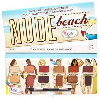 THE BALM Nude Beach® Eyeshadow Palette