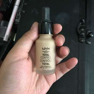 Nyx total drop foundation