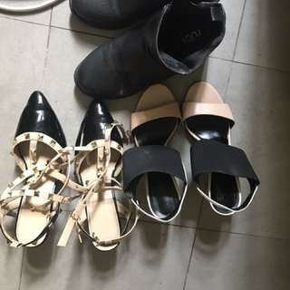 Assorted shoes 3 pairs for $20 only
