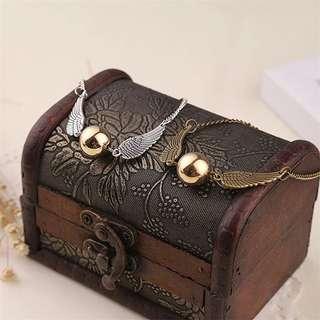 🚚 #1212 Harry Potter Snitch Bracelet
